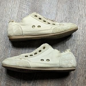 Lucky Brand Karma Frayed Slip On Sneakers You 9